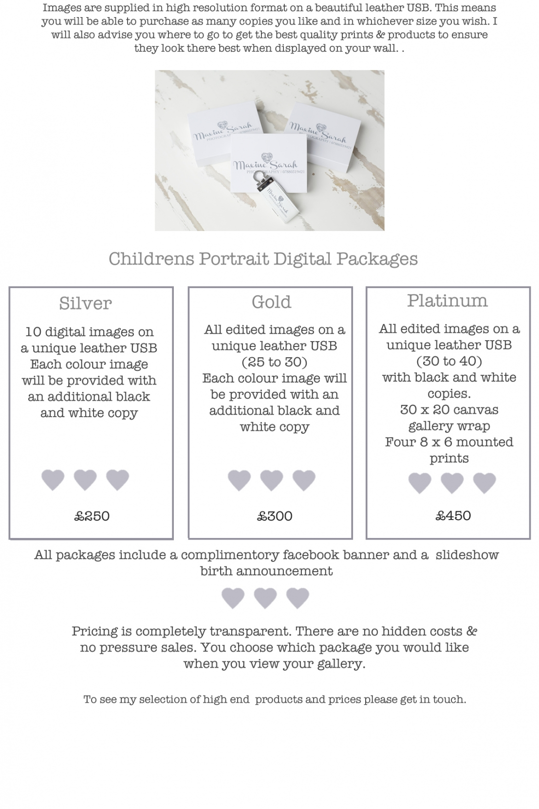 childrens packages