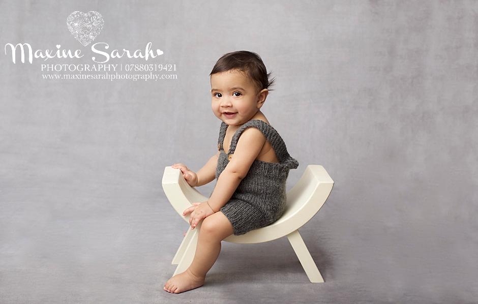 portrait studio baby prop